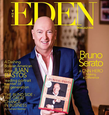 Bruno Serato on Eden Magazine Cover
